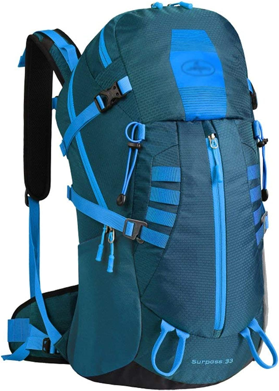JFFFFWI Es lohnt Sich, eine professionelle Outdoor-Klettertasche zu haben. Umhngetasche Herren-Outdoor-Rucksack mit groem Fassungsvermgen
