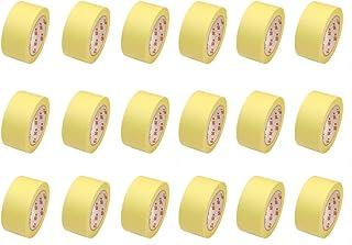 18 Rollen Flachkrepp Abklebeband Malerkrepp Malerband 50mm x 50m bis 60°C EUR 0,04 / m