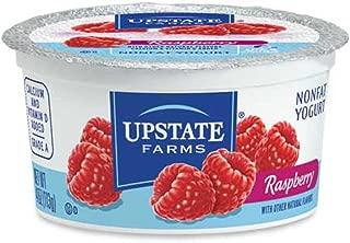 Upstate Niagara Coop Raspberry Rich and Creamy Yogurt, 4 Ounce -- 48 per case.