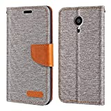 Meizu Pro 5 Case, Oxford Leather Wallet Case with Soft TPU