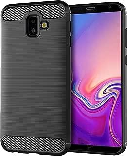 Samsung Galaxy J6 Plus Case,Samsung Galaxy J6 Prime Case,Samsung Galaxy J6+ Case, Sucnakp TPU Shock Absorption Technology Raised Bezels Protective Case Cover for Samsung Galaxy J6+ (Black)