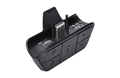 Amazon. Com: leegoal xbox one stereo headset adapter game audio.