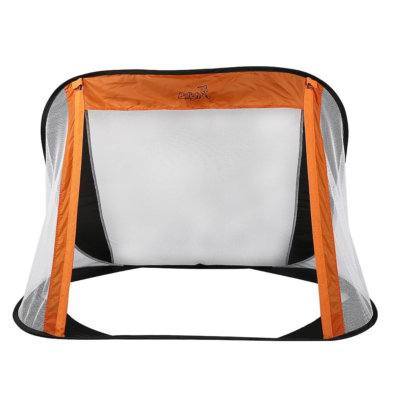 Tutuba Portable Easy Storage Folding Football Training Net Outdoor Kicking Door(Ship from USA)