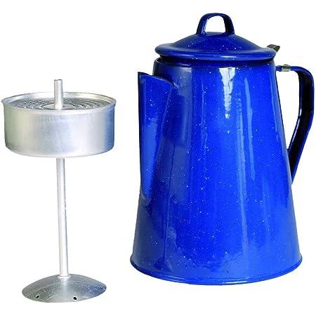 Petromax Perkolator Teezubereiter Kaffeekanne Teekanne schwarz weiß