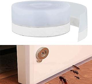 Door Seal Strip Weather Stripping Weatherstrip Self-Adhesive Silicone Door Bottom Strip Door Sealer Strip, Windproof seal ...
