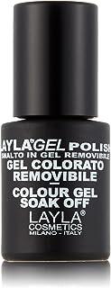 Layla Cosmetics Laylagel emerald city - Esmalte de uñas (1 unidad 001 L) color verde esmeralda
