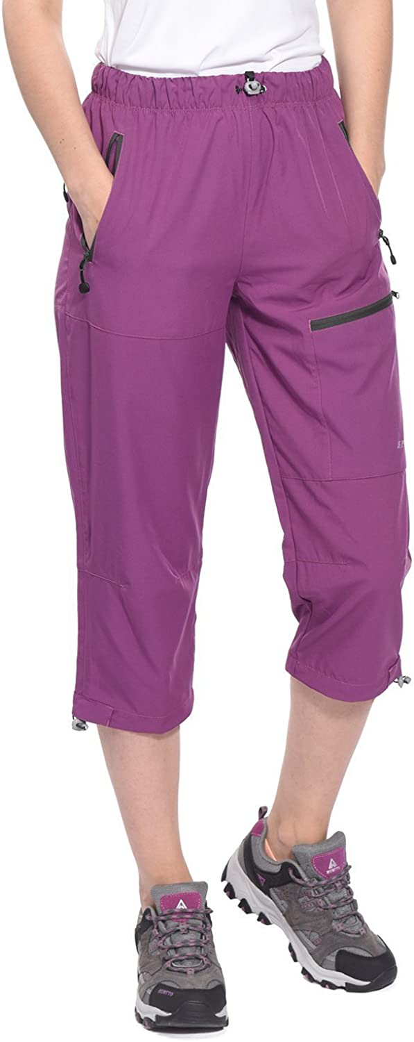 Spexial Women's Outdoor Stretch Quick Dry Hiking Pants