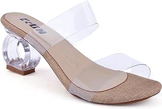 Transparent Heels Shoes For Women - 3 Centimeters