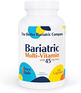 Better Bariatric Co - Bariatric Multivitamin Capsule - (120 Count) - Bariatric Vitamin Supplement for Post Bariatric Surgery
