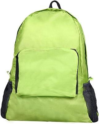 Folding Shoulder Bag UniBackpack Portable Zipper Daily Traveling Casual Backpacks Waterproof Bags