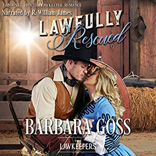 Lawfully Rescued: A Bounty Hunter Lawkeeper Romance (The Lawkeepers) audiobook cover art