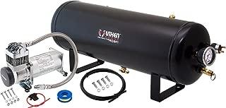 Vixen Horns 2.5 Gallon (9.5 Liter) Train/Air Horn Tank with 200 PSI Compressor Onboard System/Kit 12V VXO8325