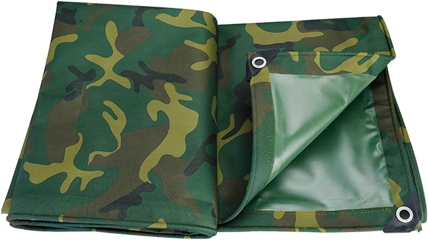 MultiPurpose Tarpaulin Cover Camping Ground Sheet Waterproof UV Resistant Sunscreen Easy to Fold Roof Rack Ground Cover Aluminium Eyelets