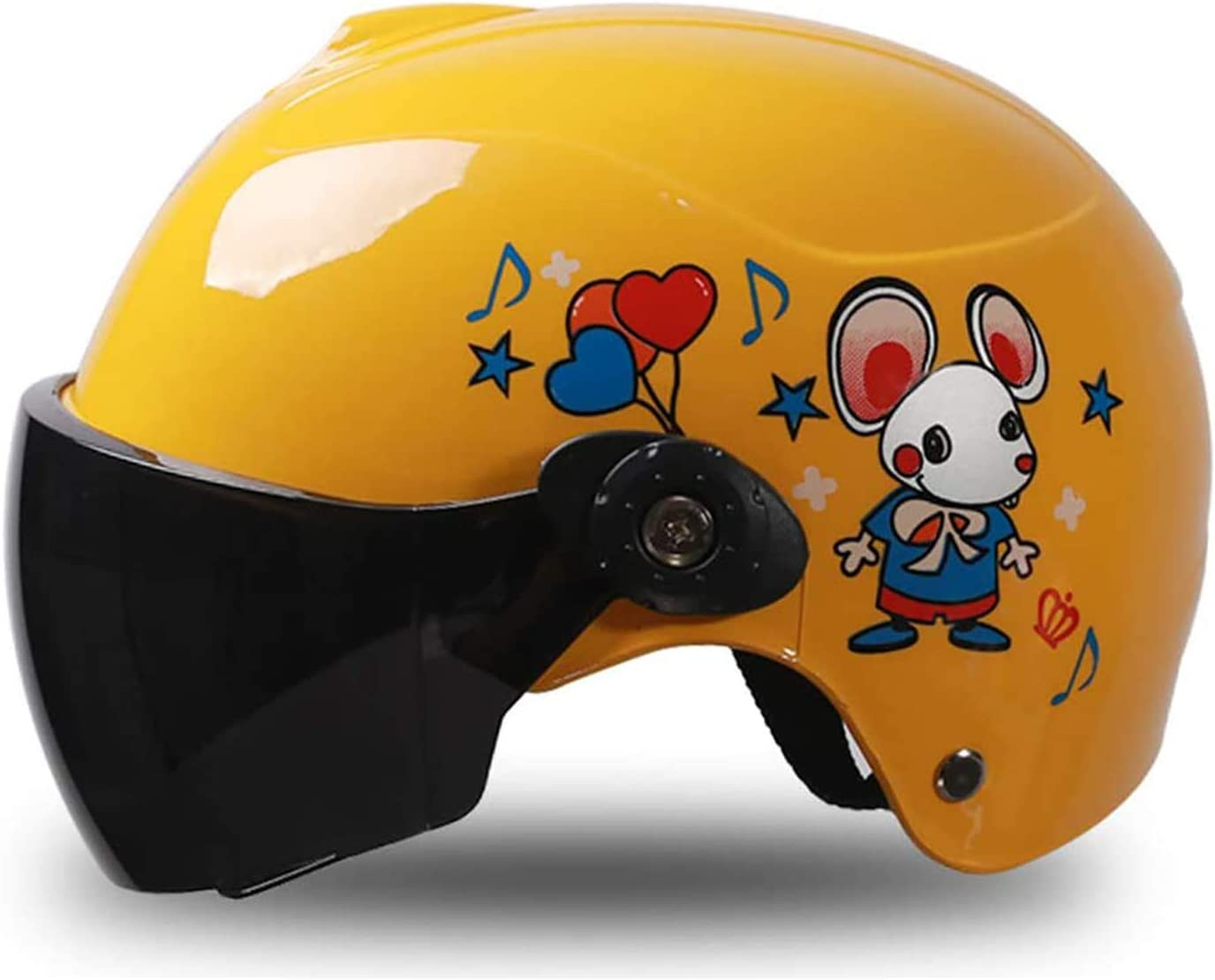 MHCYKJ Casco de Bicicletas para niños, Casco para niños pequeños, Ajustable Multiuso Jóvenes y niños Sports Sports Sports Security Safety Bicycle Roller Skating Scooter Casco
