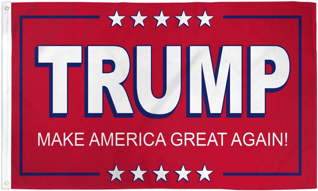 AZ FLAG Donald Trump Red Flag 3' 90 Discount is also underway 5' Flags - x President San Diego Mall US
