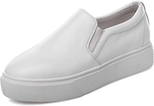 1to9pour Femme Solide randonnée Voyage Chaussures de Marche en uréthane Mms06595 - Blanc - Blanc, 36.5 EU