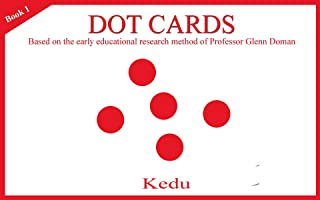 Dot cards: Research on early education from American professor Glenn Doman (English Edition)