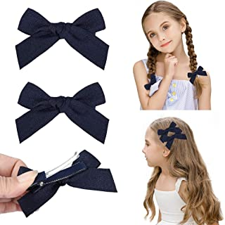 DEEKA Hair Clip Hair Bows Fringe Clip for Little Girls