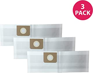 Crucial Vacuum Replacements for Vacmaster 4-Gallon Vacuum Bags Fit VF408 Wet & Dry Vacs, Compatible with Part # VFDB (3 Pack)