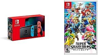 Super Smash Nintendo Switch Neon Family Fun Bundle