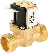 Elektrisk magnetventil, G3 / 4 normal sluten vattenventil NC-magnetventil, för luftgas