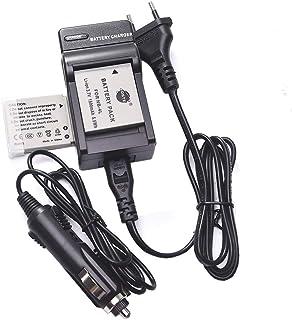 DSTE 2-Pieza Repuesto Batería y DC22E Viaje Cargador kit para Canon NB-4L PowerShot SD40 SD30 SD200 SD300 SD400 SD430 SD450 SD600 SD630 SD750 SD780 SD1100 IS SD940 SD960 SD1000 SD1100 SD1400