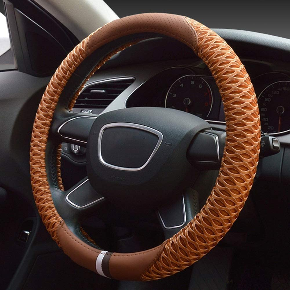 GXJX SEAL trend rank limited product Steering Wheel Cover Leath Covers Microfiber