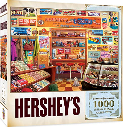 MasterPieces Hershey's Jigsaw Puzzle, Candy Shop, 1000 Pieces -  71913