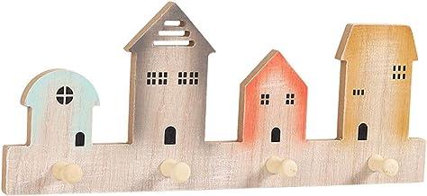 Ponsvrije kleur huis kapstok, wandmontage drijvende plank woondecoratie opbergrek voor woonkamer slaapkamer badkamer insta...