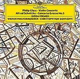 Philip Glass: Violin Concerto. Alfred Schnittke: Concerto Grosso No.5 [Vinilo]