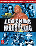 The Official Legends of Wrestling - Strategy Guide de Prima Development