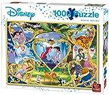King 55829 Disney Movie Magic Rompecabezas 1000 Piezas, Caja Azul