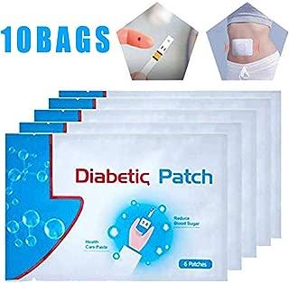 60pcs/10Bags Diabetes Pads, Pure Natural Herbal Diabetes Sticker
