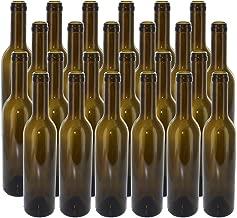 NorthernBrewer B0064OG1WM FBA_5802 375 ml Green Semi-Bordeaux Bottles, 24 per case