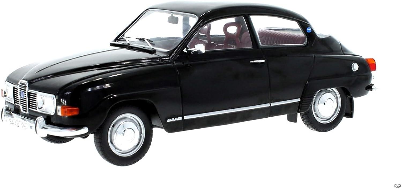 Modell 1 18 Saab 96 V4 schwarz 1971 MCG18063