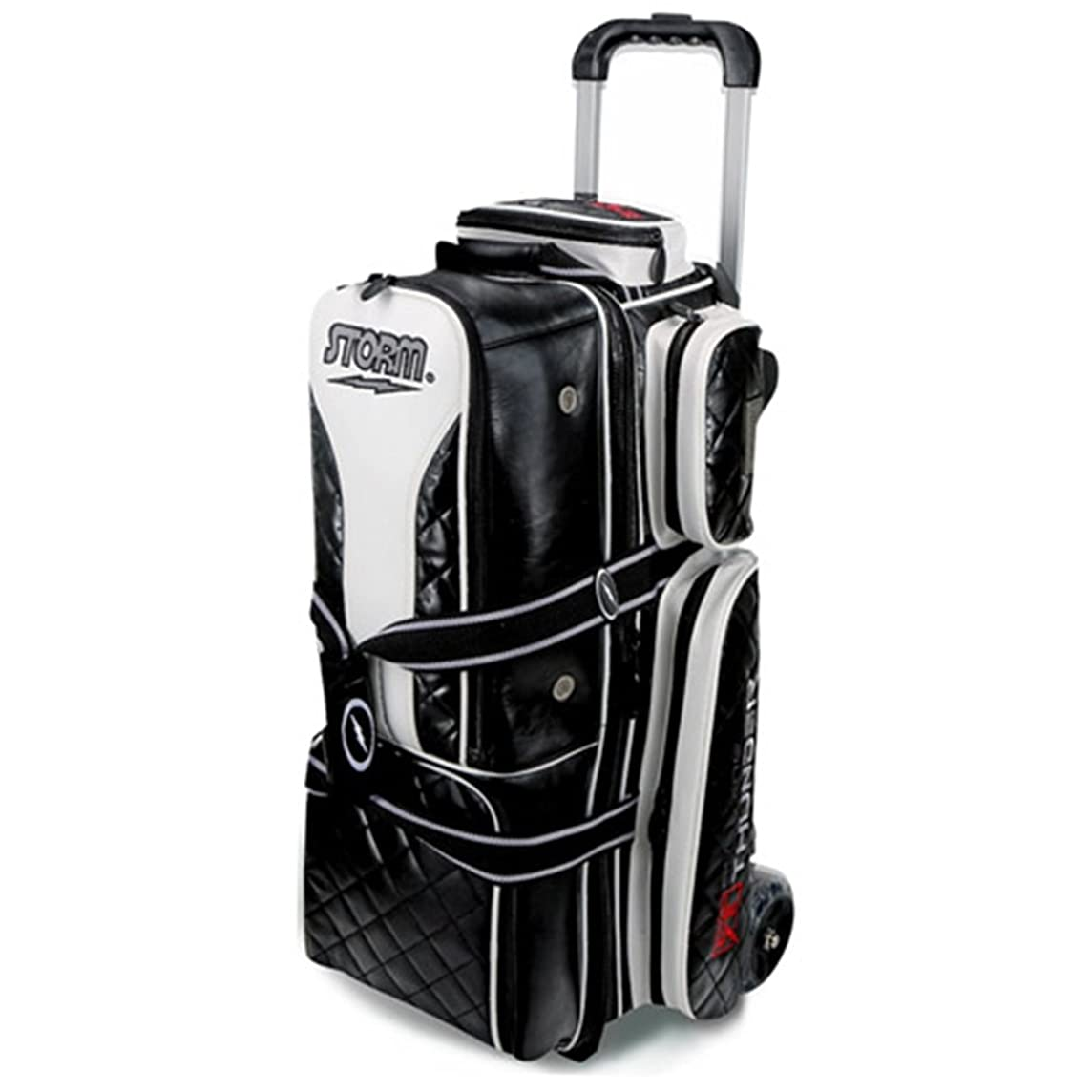 Storm 3 Ball Rolling Thunder Signature Series Bowling Bag Black