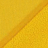 Fabulous Fabrics Fleece Curry, Uni, 155cm breit –