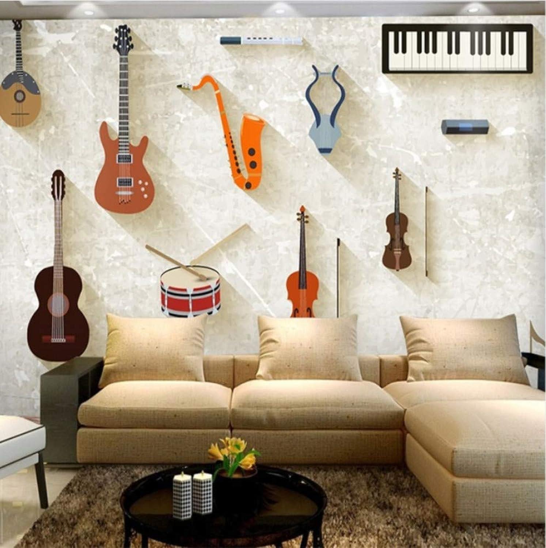 productos creativos Mbwlkj Papel pintado Instrumentos Musicales Piano Murales De Guitarra Fondos Fondos Fondos De Pantalla Murales 3D Para Sala De Música Y Sala De Cama Murales 3D-200cmx140cm  orden ahora con gran descuento y entrega gratuita