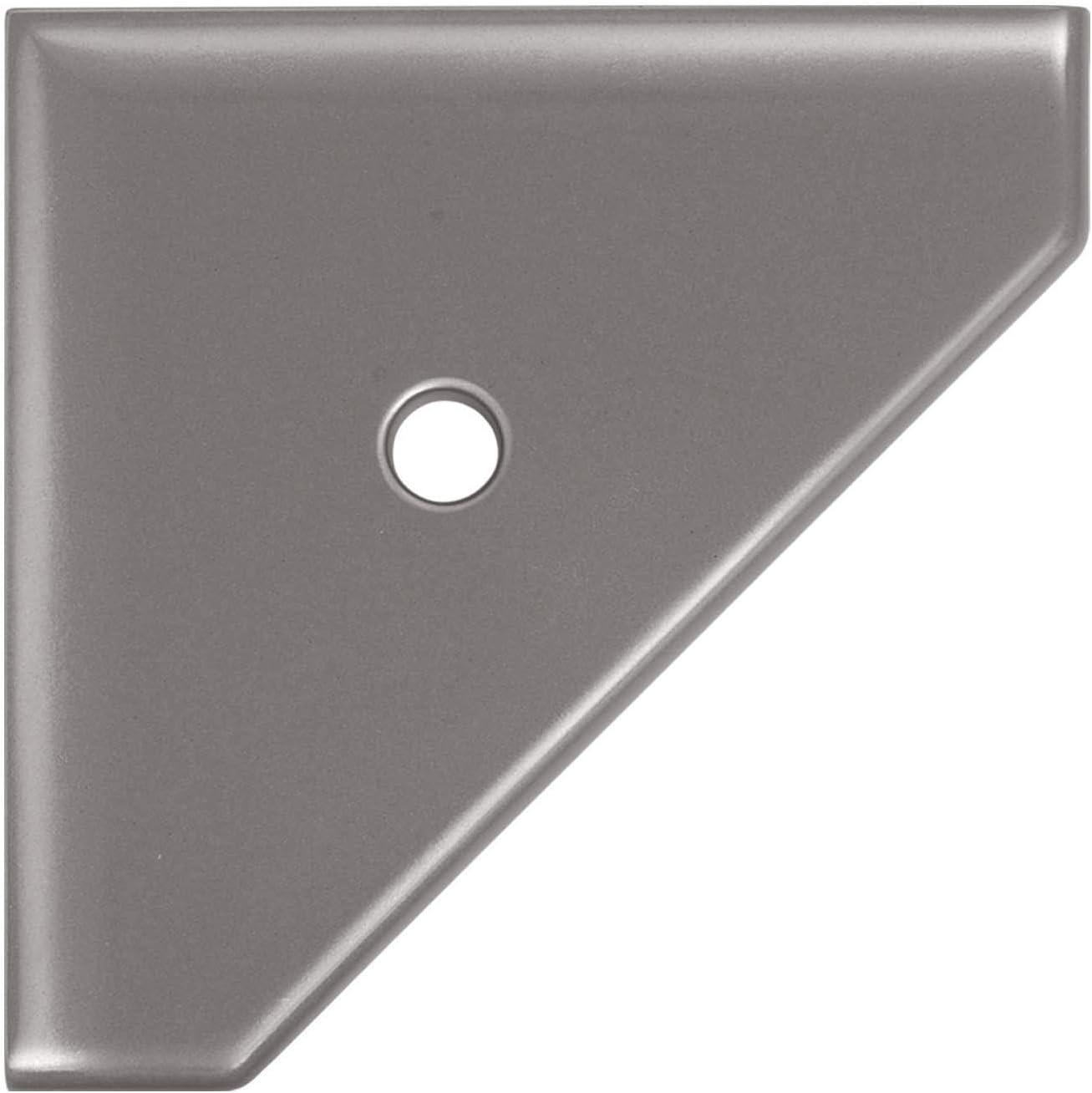 8 Discount mail order inch Corner Award-winning store Shower Shelf - Cast Nickel Wall Brushed Moun Metal