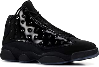 Jordan Men's Retro 13 Black/Black Leather Basketball Shoes 11.5 M US