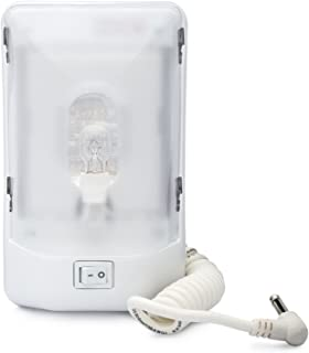 Lumitronics RV Euro-Style Portable Interior Bunk Light (Single with Cord)