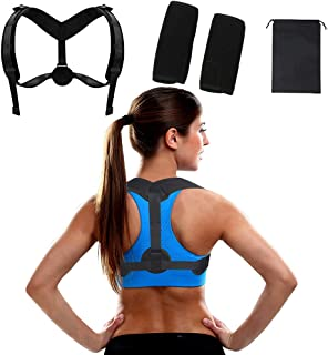 Youdiao Posture Corrector For Men & Women - Adjustable Upper Back Brace For Clavicle To Support Neck, Back and Shoulder - ...