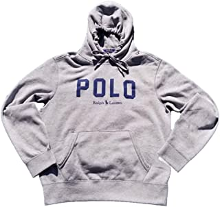 Men's Polo Logo Graphic Hoodie Sweatshirt