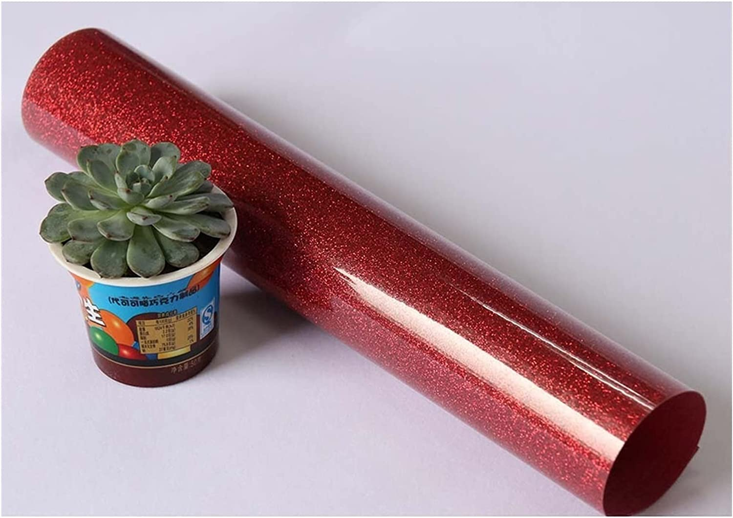 Printable Ranking TOP15 Heat Our shop OFFers the best service Transfer Vinyl Red HTV Glitter Viny