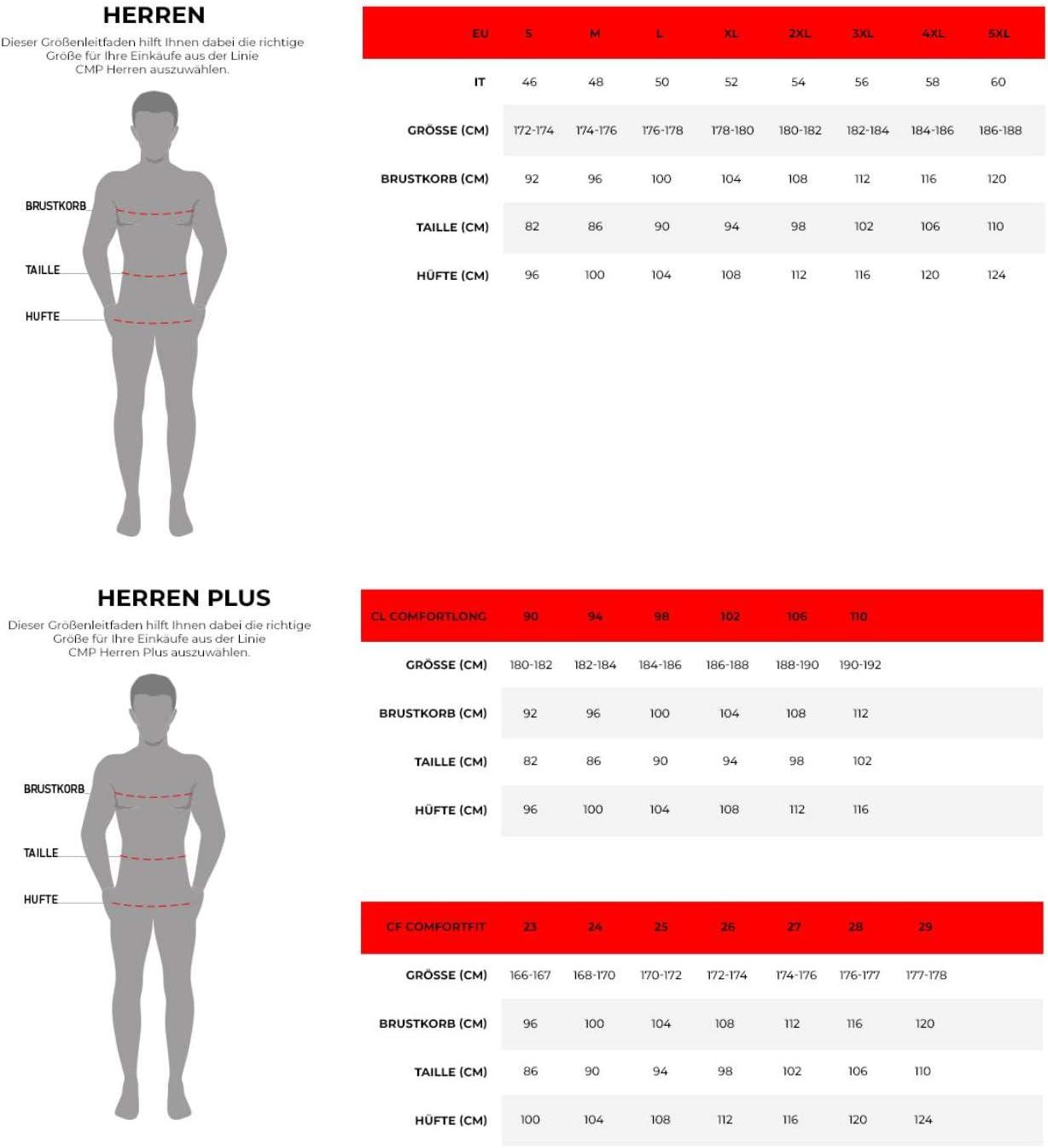 CMP Pantalon Corsaire de Sport pour Homme