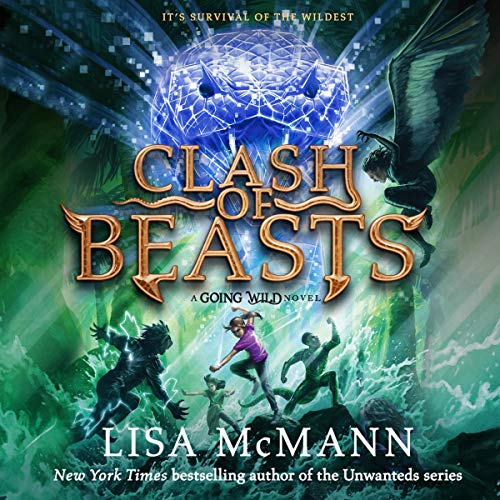 Clash of Beasts audiobook cover art