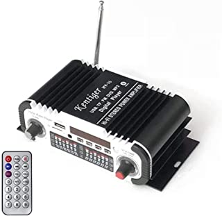 DollaTek DC 12V 2 Canales Hi-fi Mini Motocicleta Digital Auto Car Est/éreo Amplificador de Potencia Modo de Sonido Audio Reproductor de m/úsica Soporte USB//FM//SD Rojo
