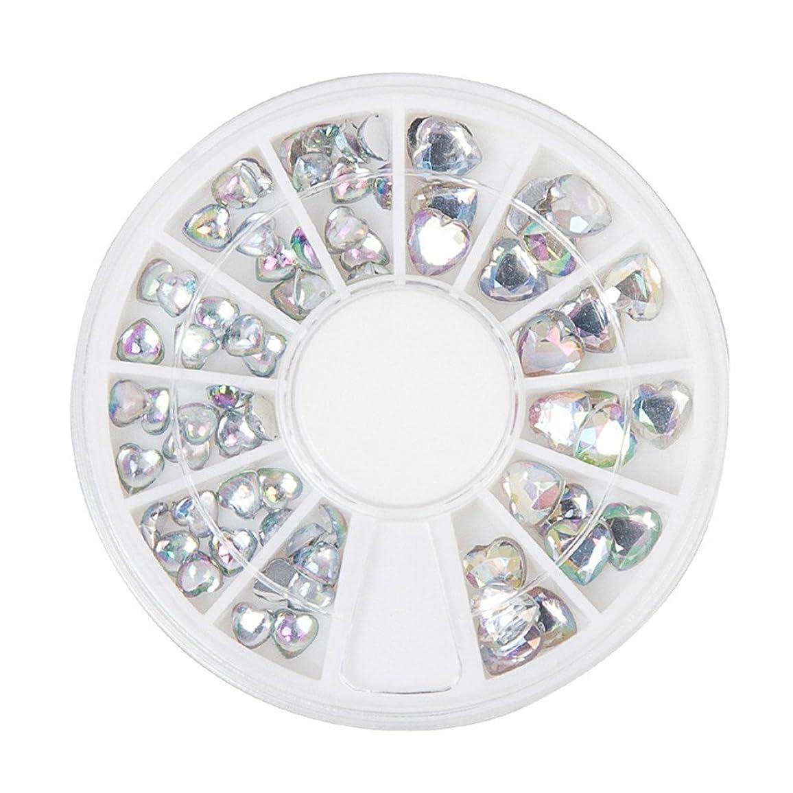 篭奇妙なスタジオジェルネイル ラインストーン アートパーツ パール ハート ダイヤモンド 22種類選択可