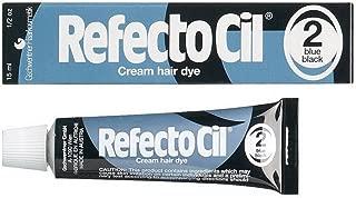 Refectocil #2 - Blue Black Cream Hair Dye - Size 0.5oz/15ml