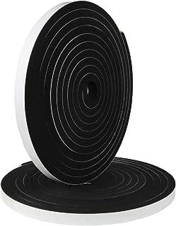 Hxtape High Density Foam Tape,Single Side Adhesive,Soundproofing Waterproofing Insulation Foam Gasket Tape Weather Strip (1/3